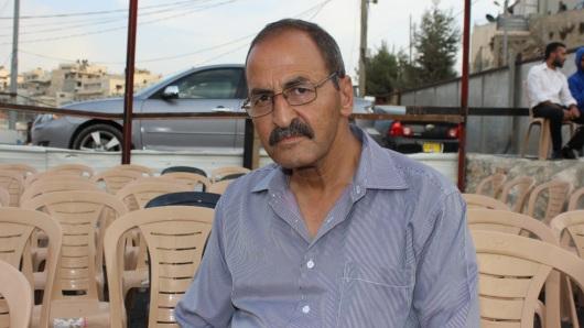 محمد عليان، والد الشهيد بهاء عليان، تصوير: الجزيرة نت
