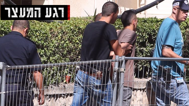 محمد حورشية أثناء اعتقاله - الصورة من موقع واينت الاسرائيلي